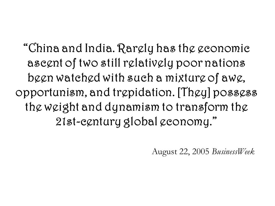 Comparison… India lags behind china in infrastructure.