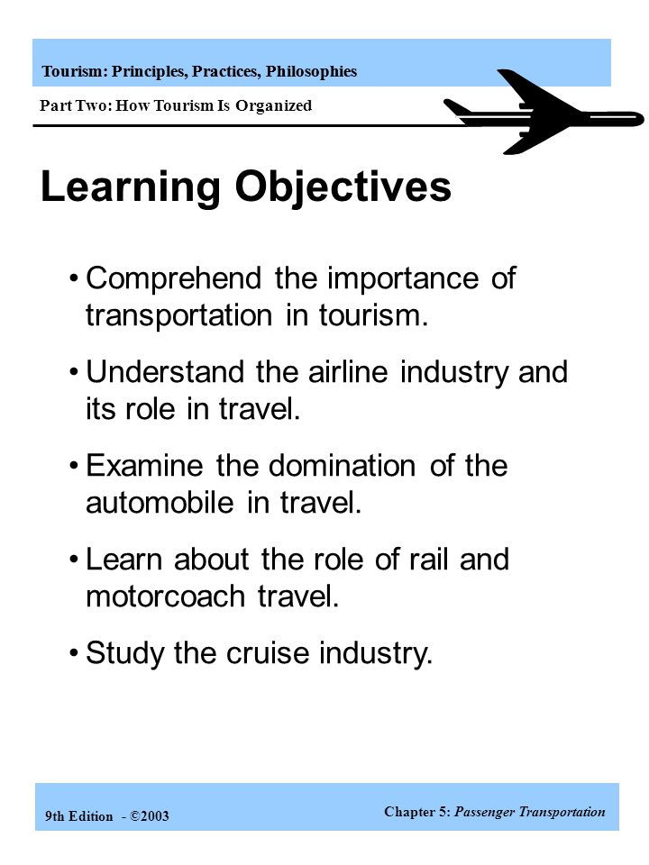 Tourism: Principles, Practices, Philosophies 9th Edition - ©2003 Other Tourism Organizations Convention and Visitor Bureaus (CVBs ) * Not-for-profit u