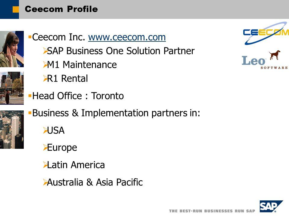 Ceecom Profile  Ceecom Inc.