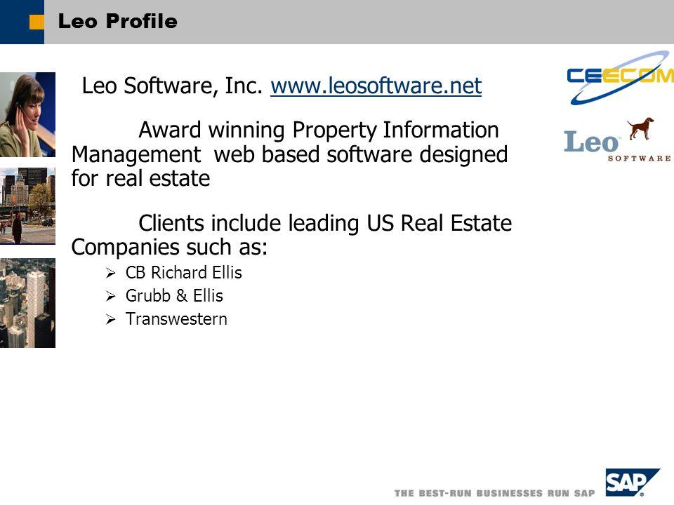 Leo Profile Leo Software, Inc.