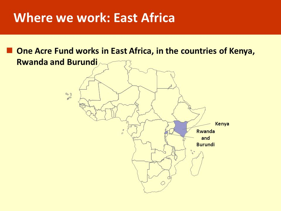 Rwandan farmers cooperating together