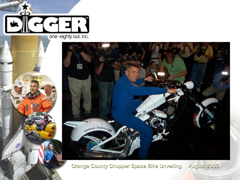 Orange County Chopper Space Bike Unveiling August 2005