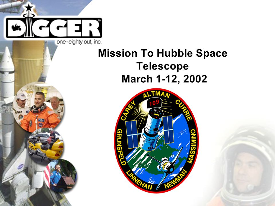 Mission To Hubble Space Telescope March 1-12, 2002