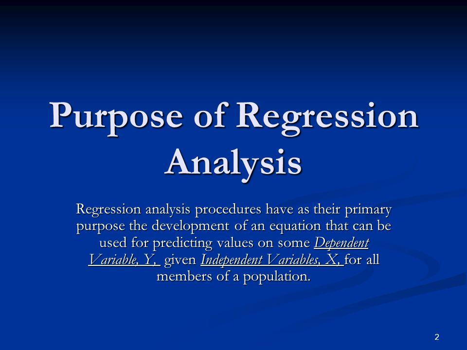 13 Calculation of Regression Line Standard Deviation of Y Standard Deviation of X Correlation of X & Y