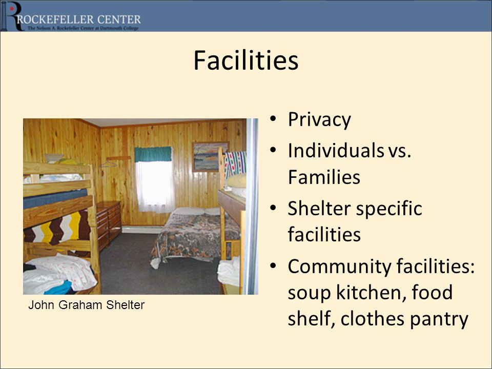 Facilities Privacy Individuals vs.