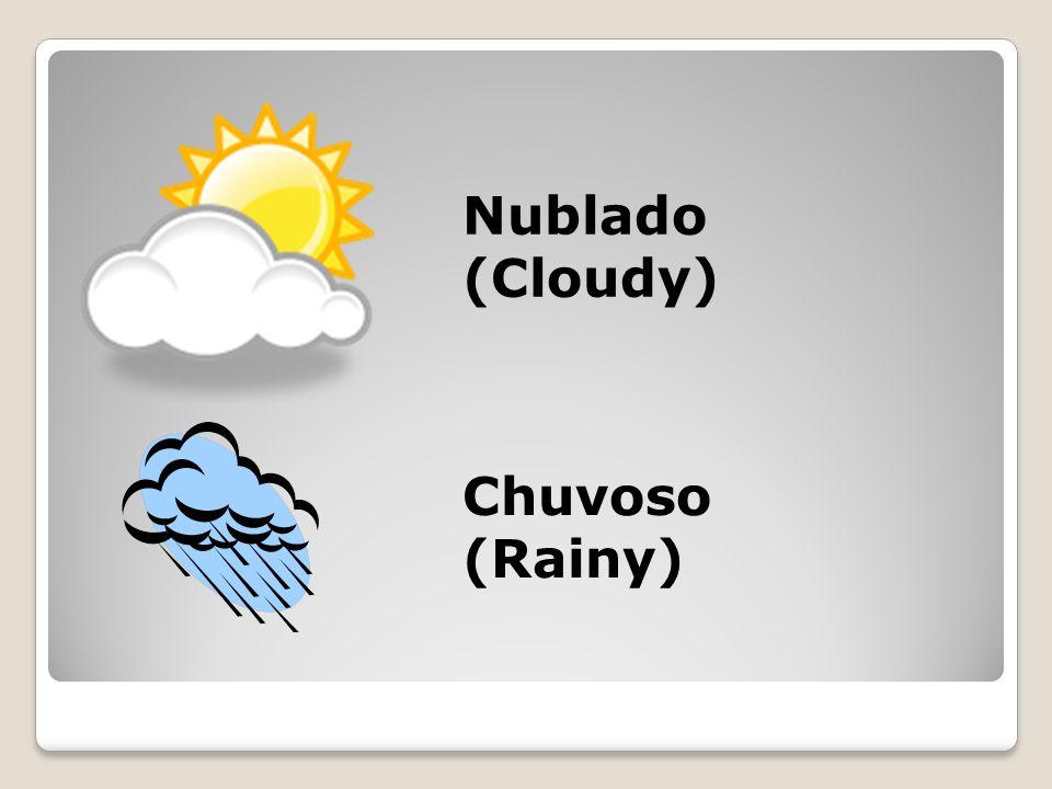 Nublado (Cloudy) Chuvoso (Rainy)