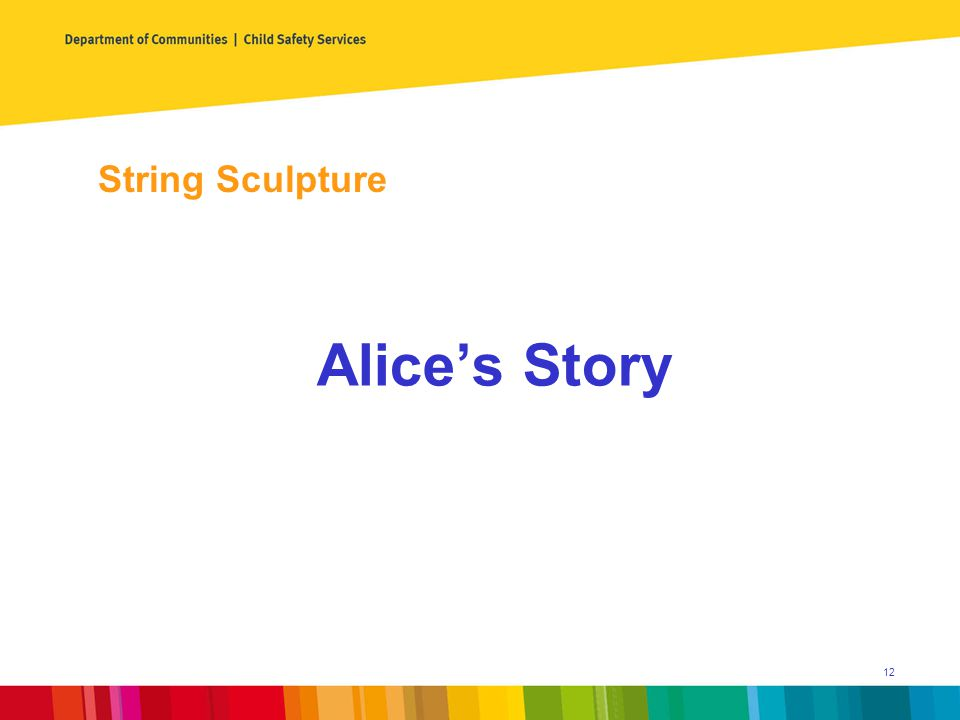 String Sculpture Alice's Story 12