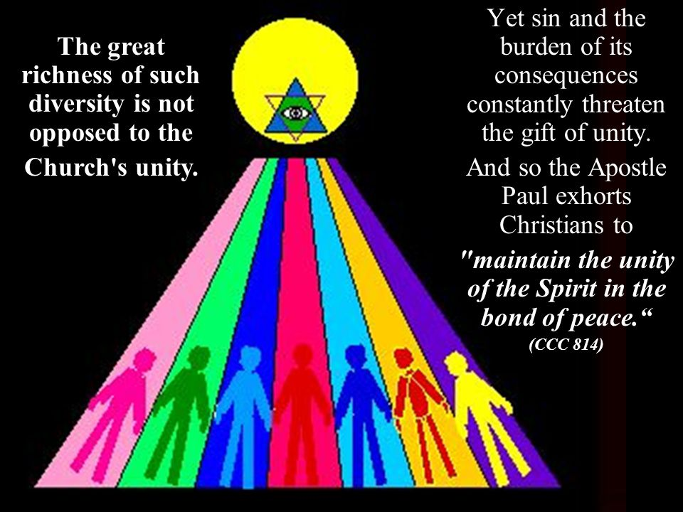 What are these bonds of unity.