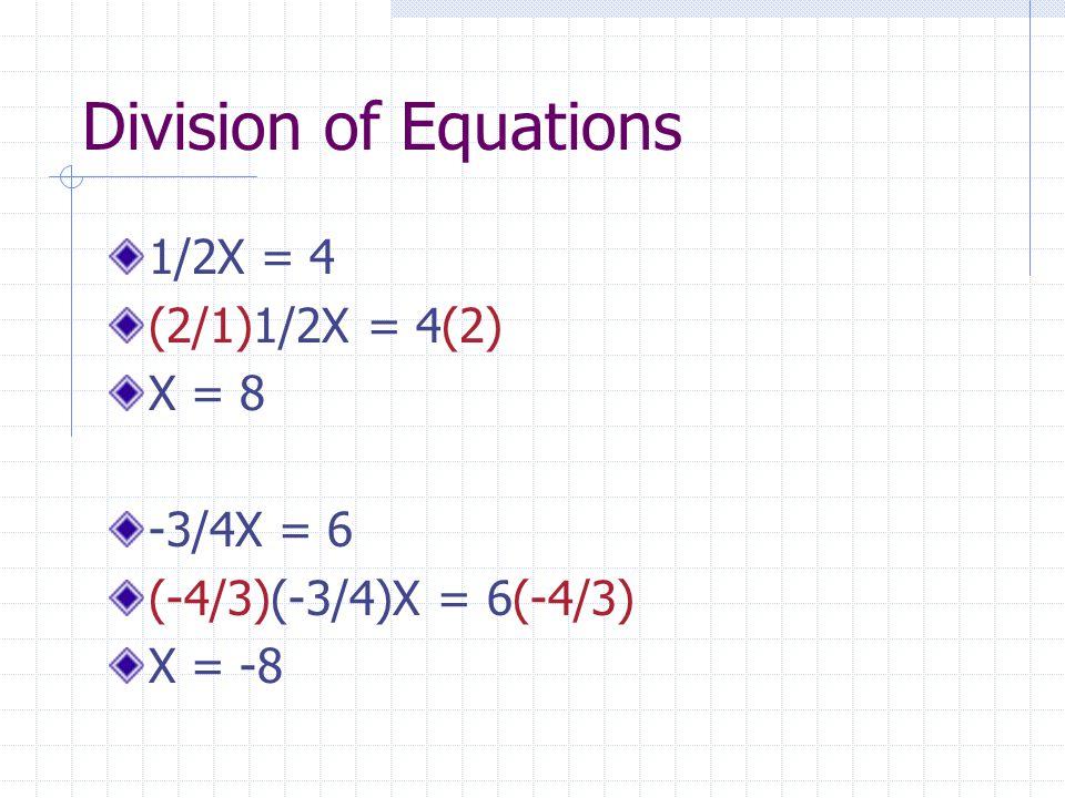 Answers!!! X = -4 X = -9 X = 6/5 X = 1/4