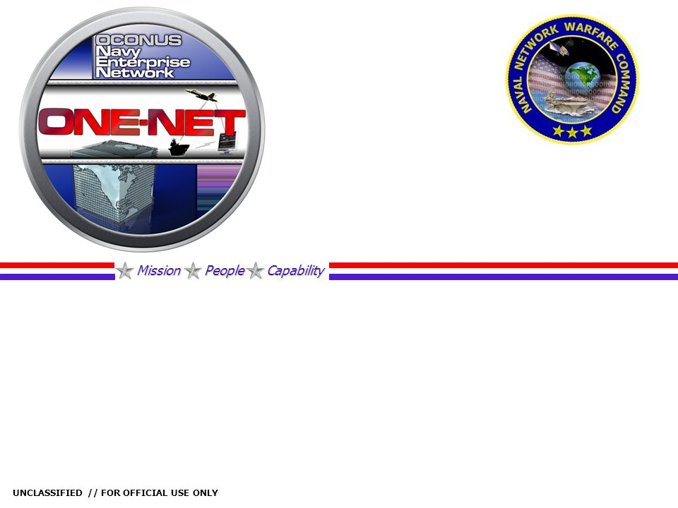 Mission People Capability UNCLASSIFIED // FOR OFFICIAL USE ONLY