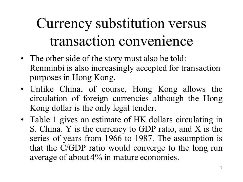28 Forms of Monetary Integration I.