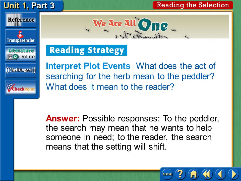 Interpret Plot Events Is a mother's advice usually right or wrong.