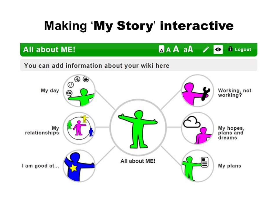 Making 'My Story' interactive