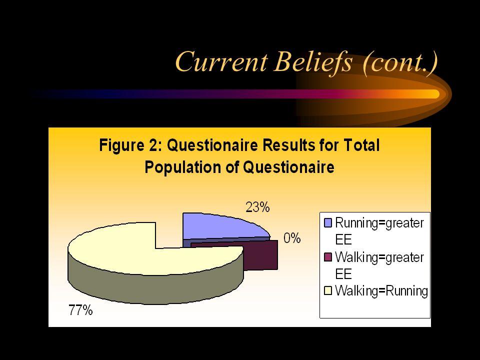 Current Beliefs (cont.)