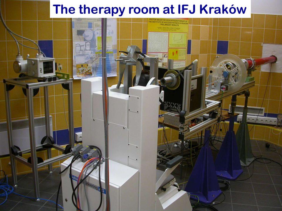 Pawel Olko, IEEE meeting, 30.06.2008 14 The therapy room at IFJ Kraków