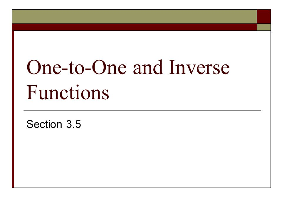 Find the inverse of the the function f(x) = ½x³ (The function is one-to-one) f(x) = ½x³ y = ½x³ x = ½y³ 2x = y³