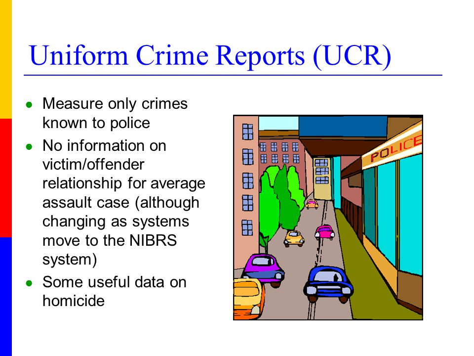 In 2006, UCR data show: ● Homicide data involving only one victim and one offender show that overwhelming number of both male and female victims are killed by men (92% for women and 91% or men).
