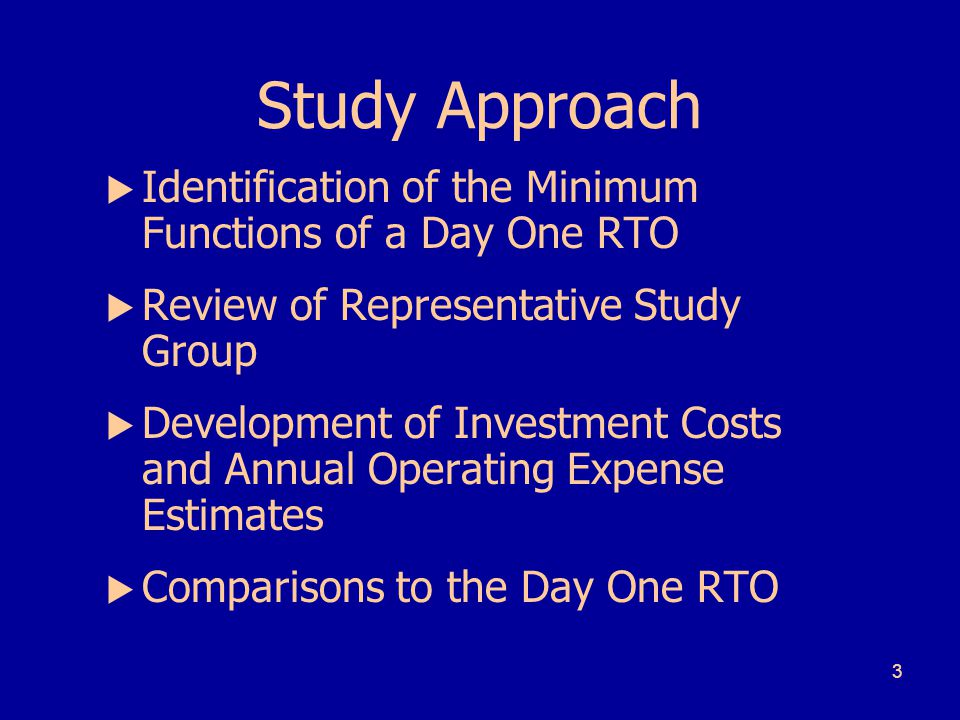 4 RTO Functions by Stage