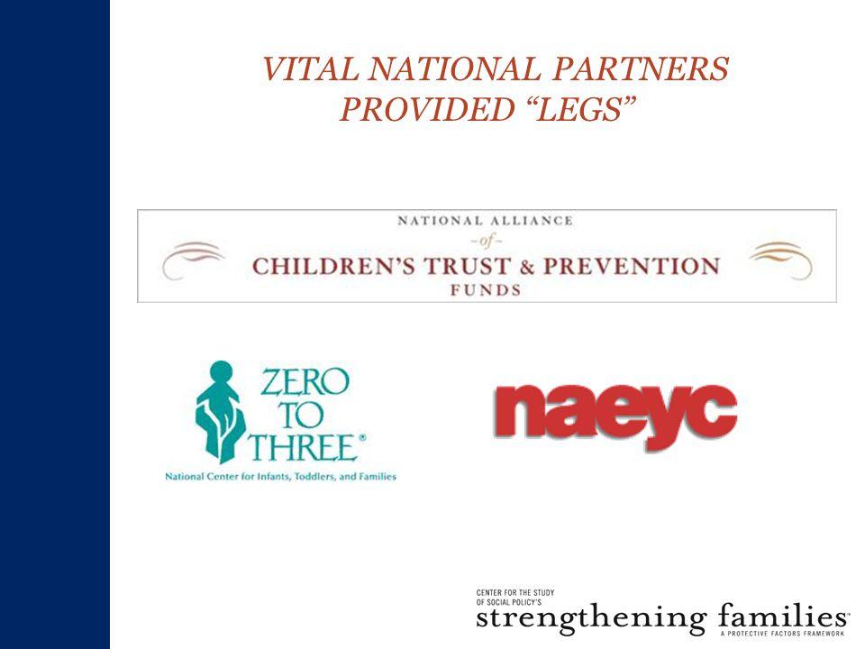 VITAL NATIONAL PARTNERS PROVIDED LEGS