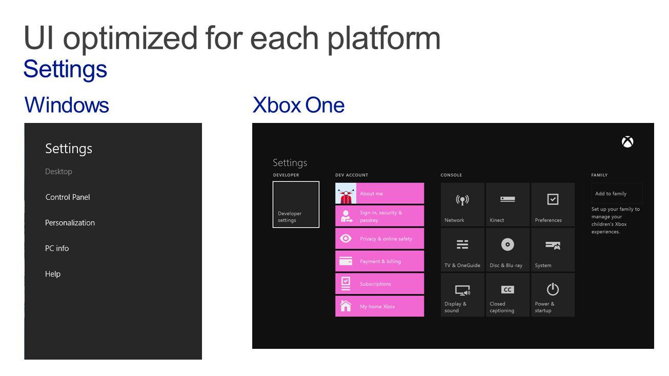 WindowsXbox One