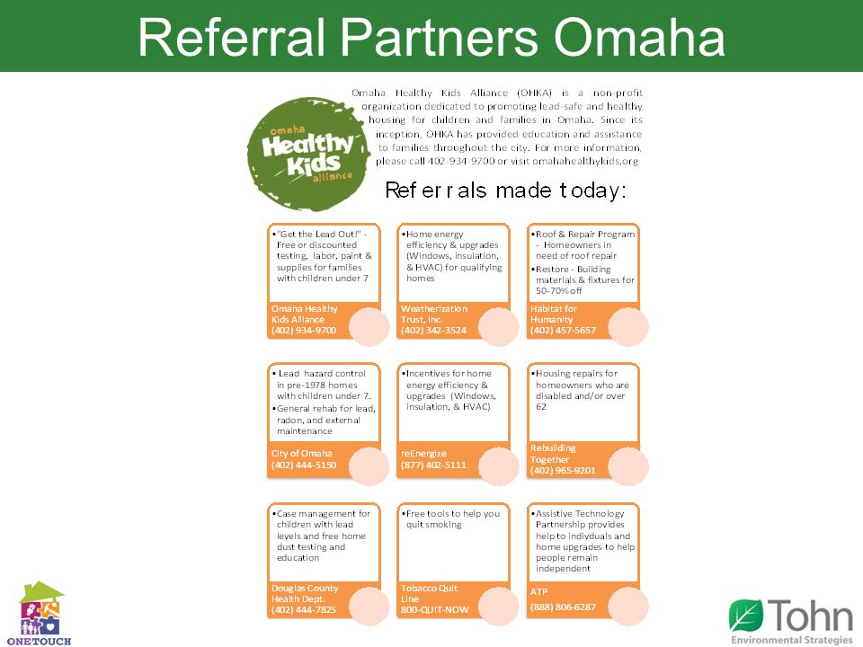 Referral Partners Omaha