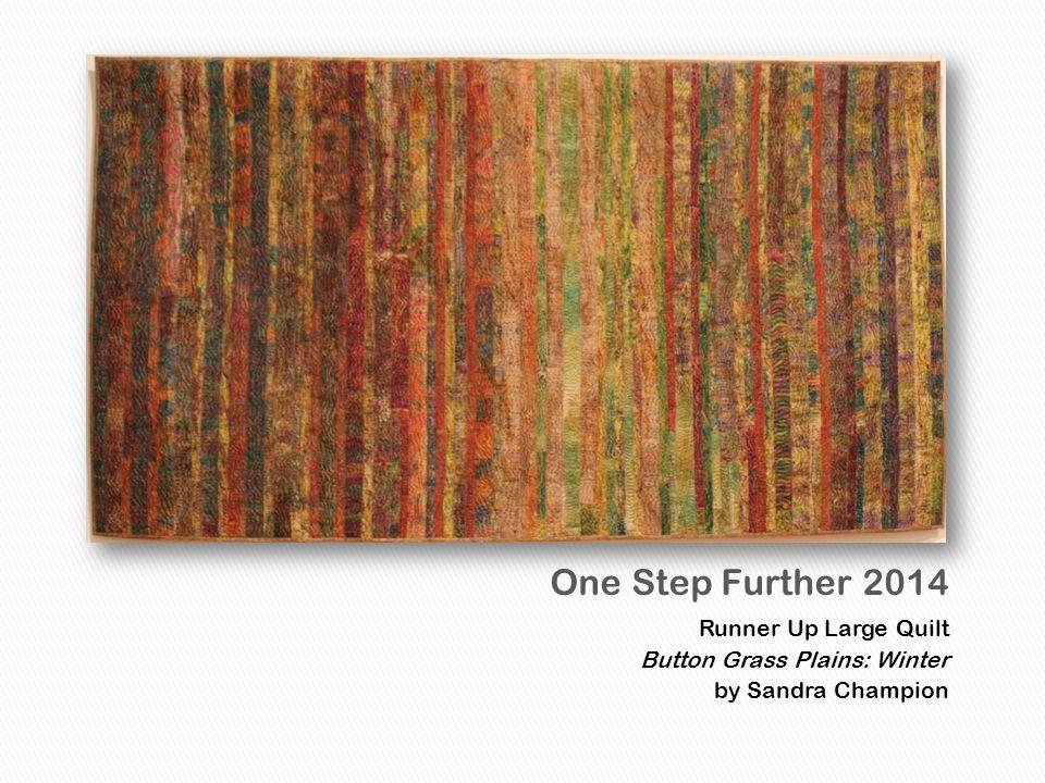 1st Place Small Quilt Eucalyptus on Silk by Ann Jackson