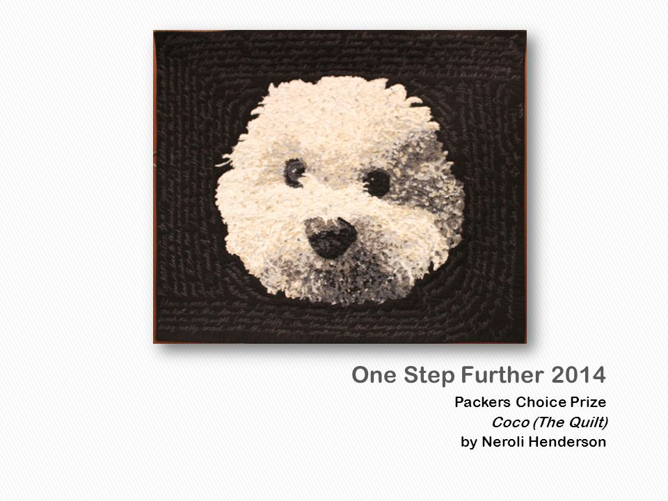 Packers Choice Prize Coco (The Quilt) by Neroli Henderson