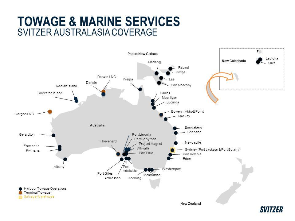Melbourne Harbour Towage Operations Terminal Towage Salvage Warehouse Newcastle Weipa Cairns Mourilyan Lucinda Bowen – Abbott Point Mackay Brisbane Bu