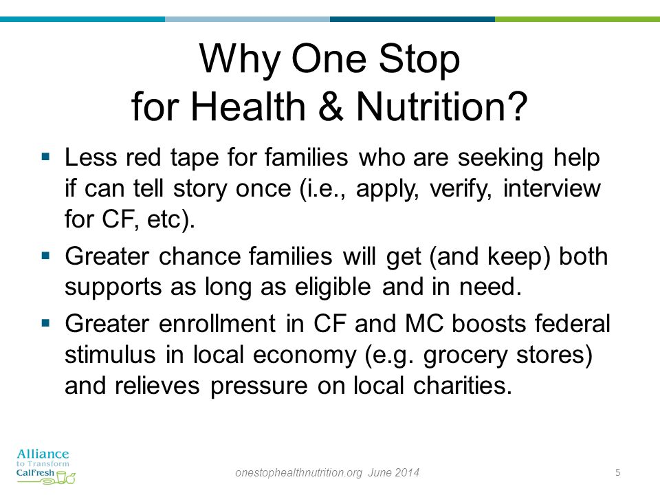 Why One Stop for Health & Nutrition.
