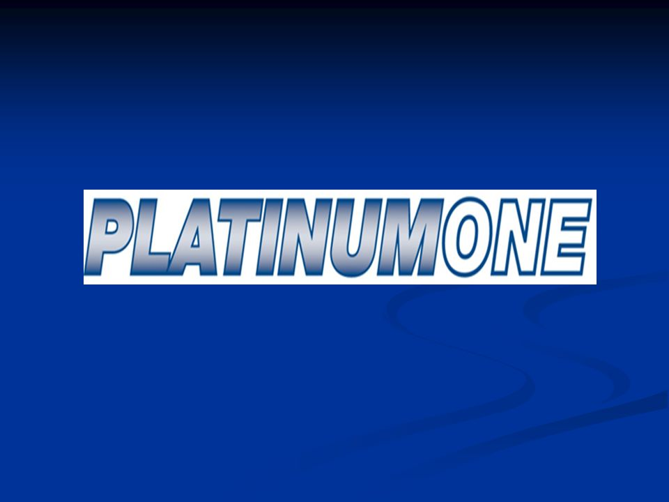 Platinum One LLC. The Silver Plan The Silver Plan