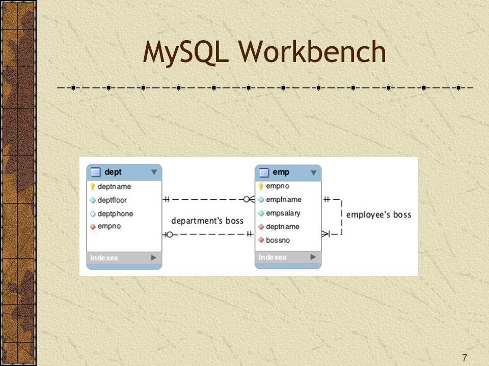 7 MySQL Workbench