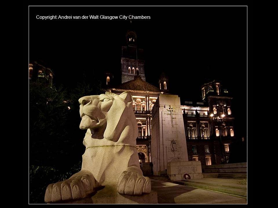 Copyright: Andrei van der Walt Glasgow City Chambers