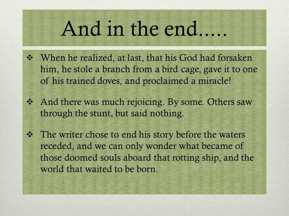 Why an Ark Story.