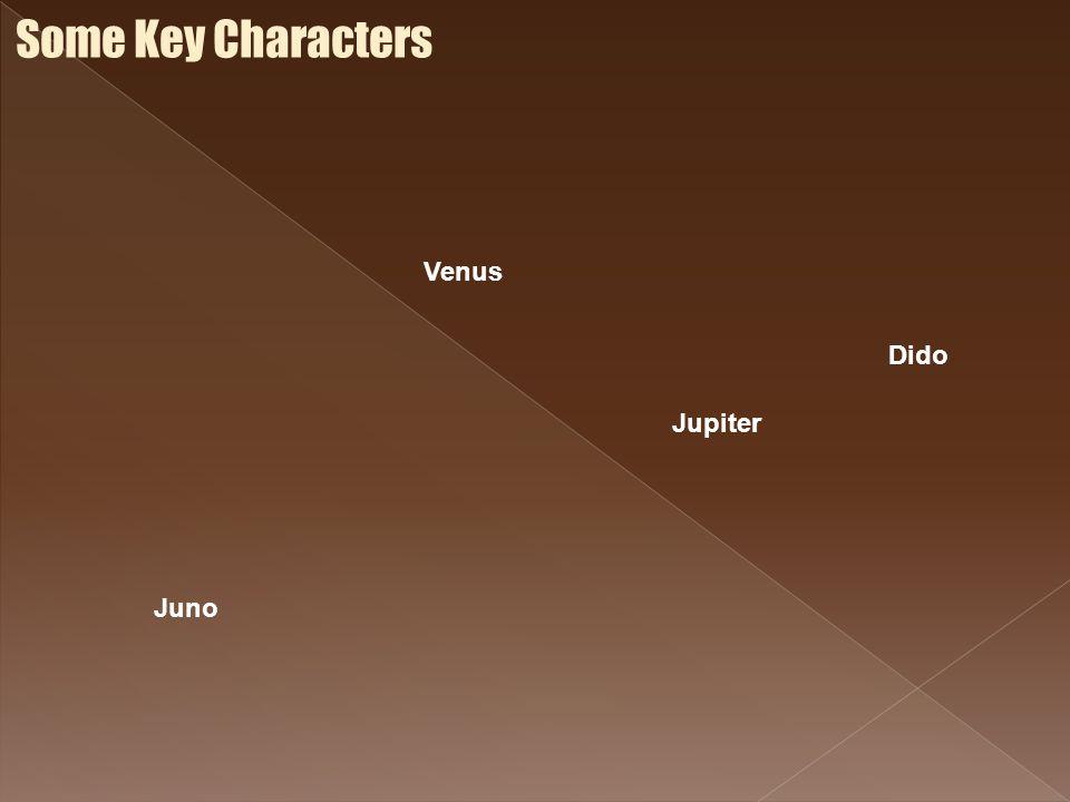Some Key Characters Juno Venus Jupiter Dido