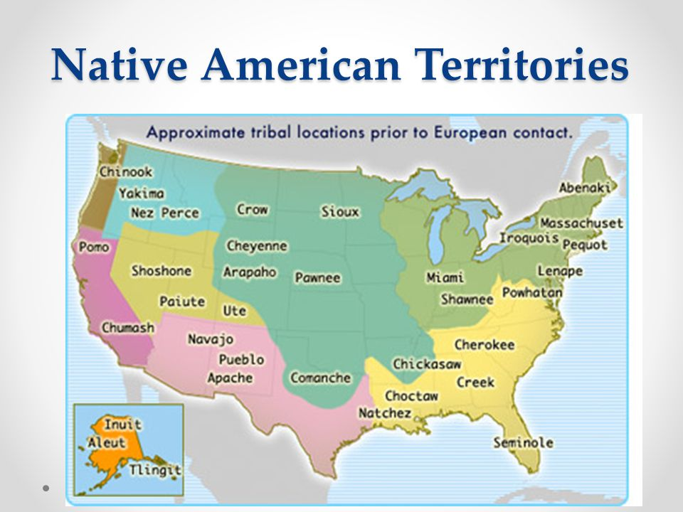 Native American Territories