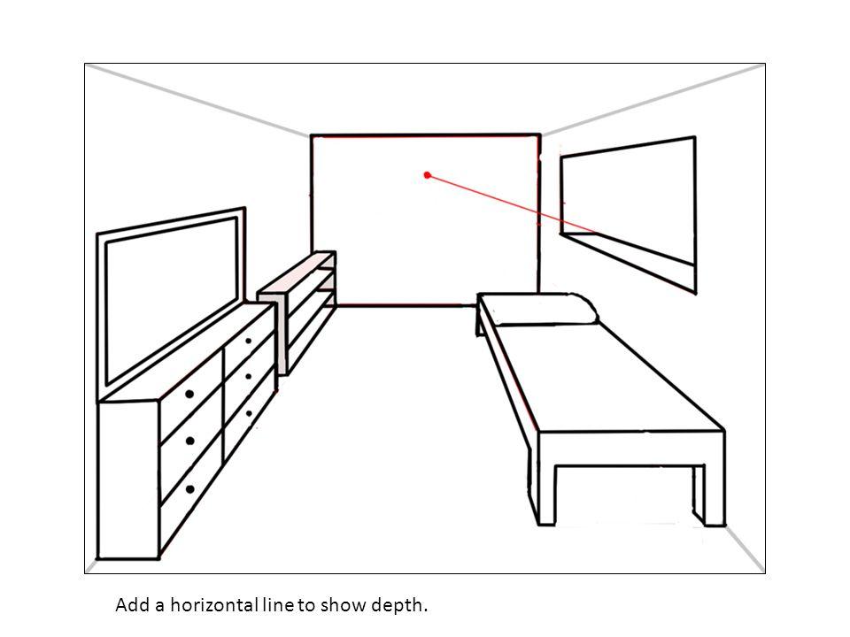 Add a horizontal line to show depth.