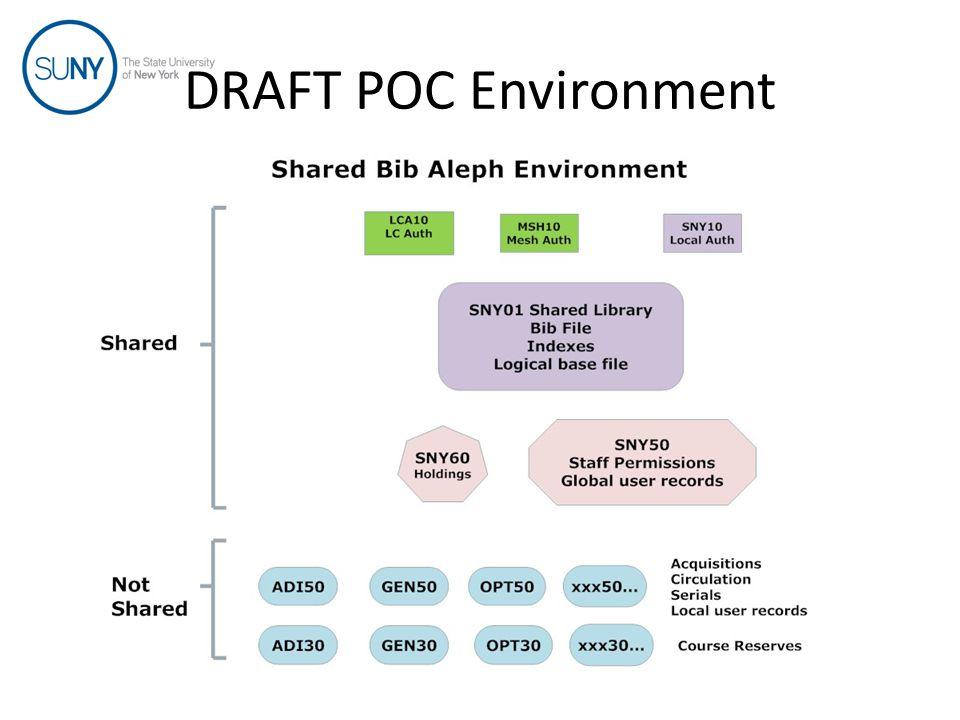 DRAFT POC Environment