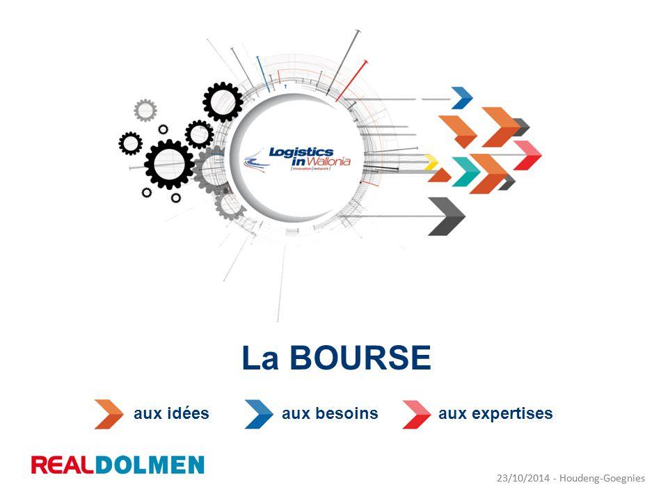 23/10/2014 - Houdeng-Goegnies La BOURSE 23/10/2014 - Houdeng-Goegnies aux idéesaux besoinsaux expertises