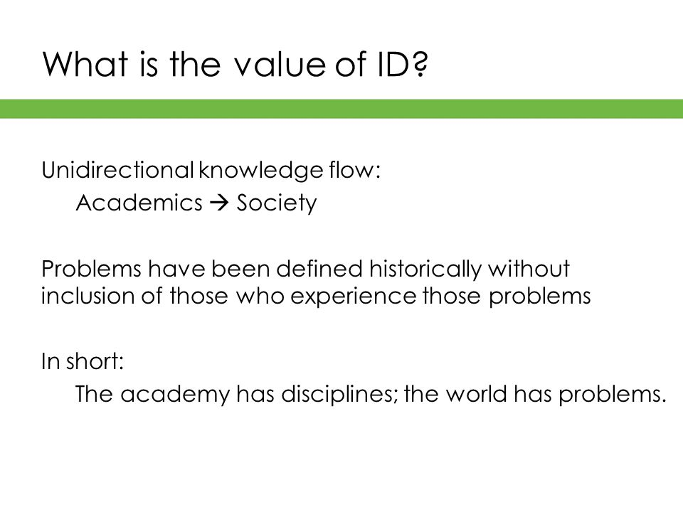 What is the value of ID.