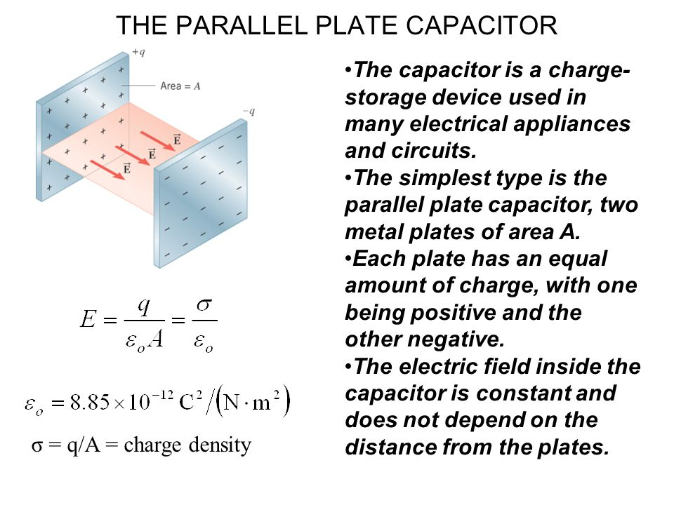 The capacitor is a charge- storage device used in many electrical appliances and circuits.