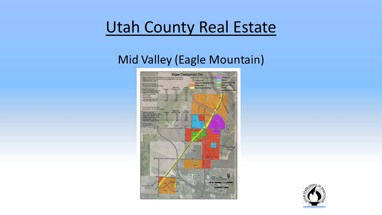 Utah County Real Estate Mid Valley (Eagle Mountain)