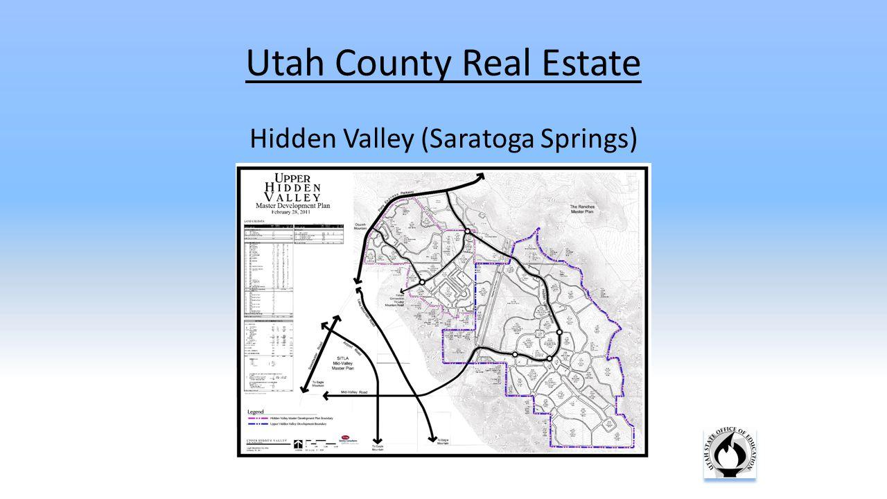 Utah County Real Estate Hidden Valley (Saratoga Springs)