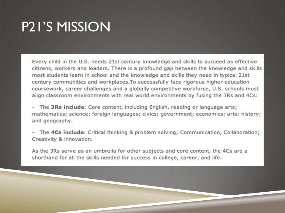 P21'S MISSION
