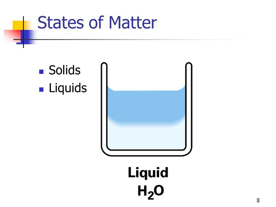 29 Mixtures, Substances, Compounds, and Elements