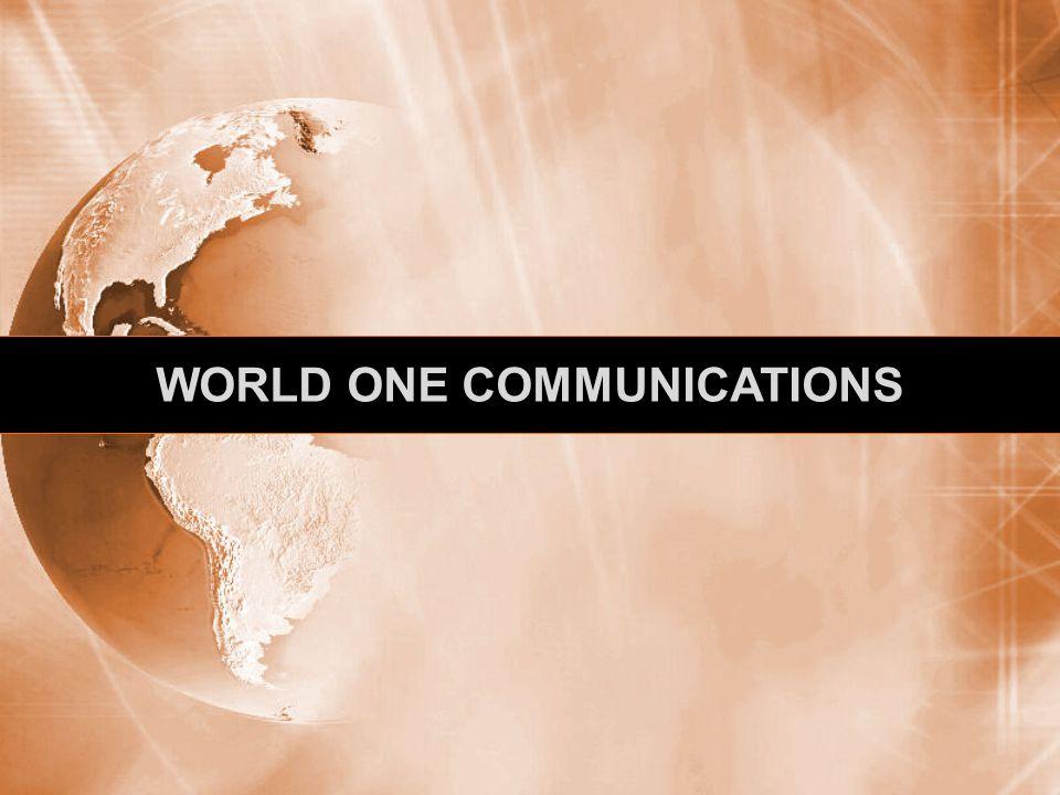 WORLD ONE COMMUNICATIONS