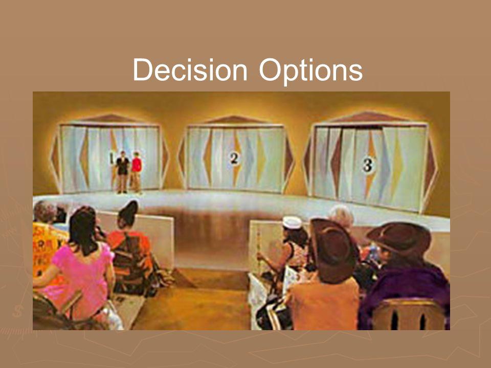 Decision Options
