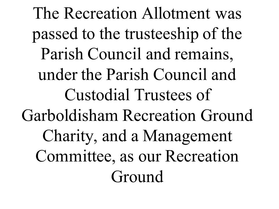 The general terms of the Charities remained as set up in 1879 until 1976, when the then Trustees decided to ask the Charities Commission to upgrade the terms of the Charity, to become more relevant to the modern age.