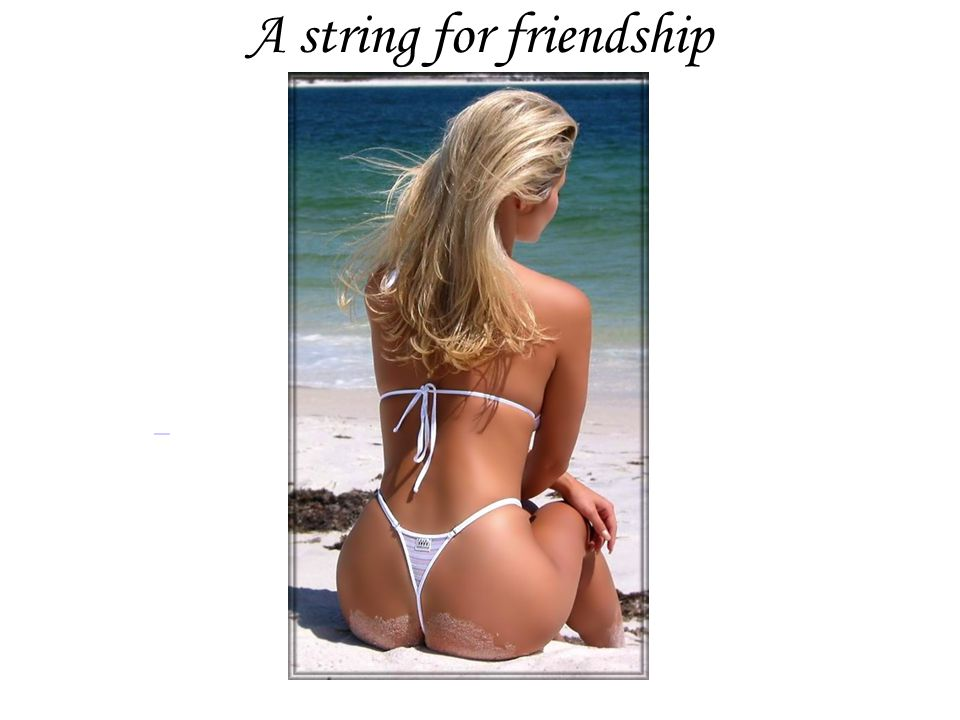 A string for friendship