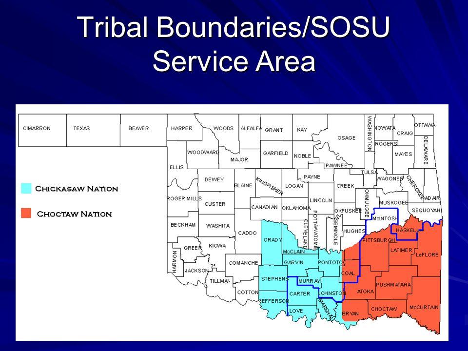 Tribal Boundaries/SOSU Service Area