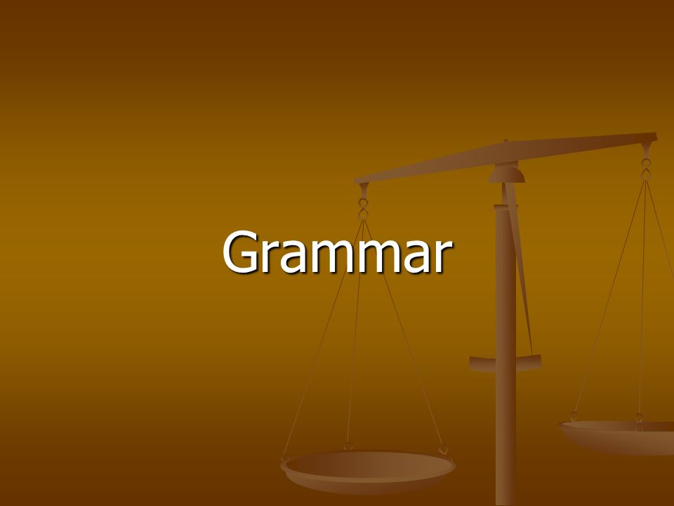 Grammar Do's and Don'ts Make sure you check for the following: Make sure you check for the following:  Parallel construction  Modifiers  Split infinitives  Dangling participles  Correct use of pronouns  Subject-verb agreement  Correct verb tense  Superfluous verbs  Sentence fragments  Run-on sentences